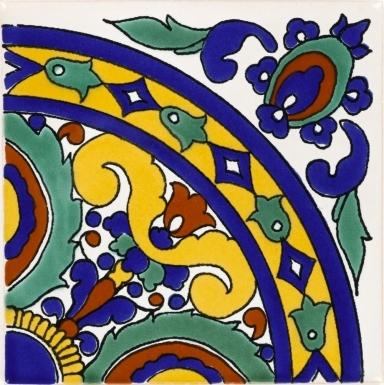 Quarter Isola 1 Terra Nova Mediterraneo Ceramic Tile