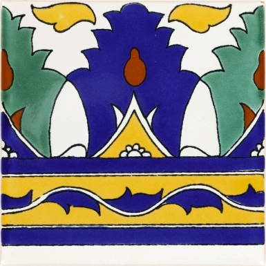 Pienza 3 Terra Nova Mediterraneo Ceramic Tile