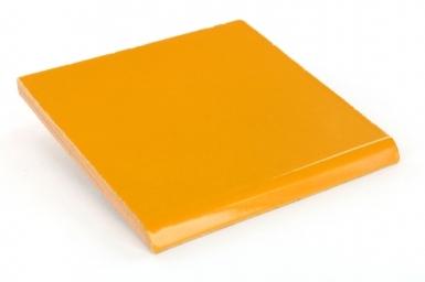 Surface Bullnose: Squash - Terra Nova Mediterraneo Ceramic Tile