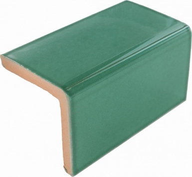 V-Cap: Light Green - Terra Nova Mediterraneo Ceramic Tile