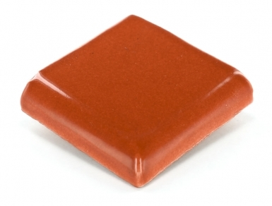 Double Surface Bullnose: Rust - Terra Nova Mediterraneo Ceramic Tile