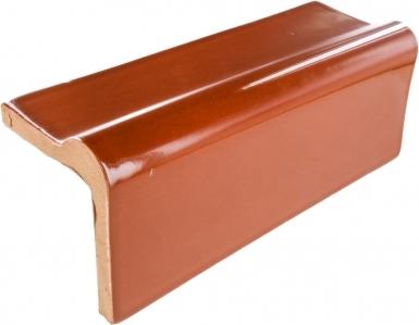 V-Cap Rail: Rust - Terra Nova Mediterraneo Ceramic Tile