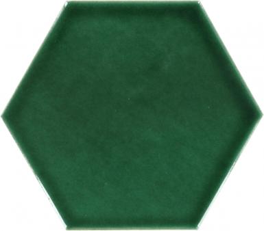 Verde Hoja - Talavera Hexagonal Ceramic Tile