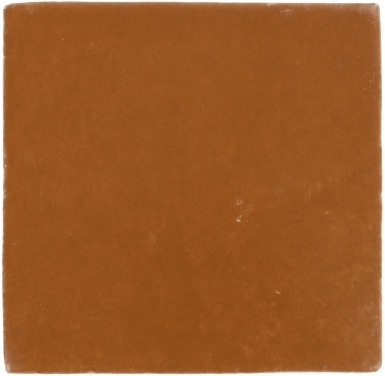 Copper Matte Handmade Siena Faux Fresco Ceramic Tile