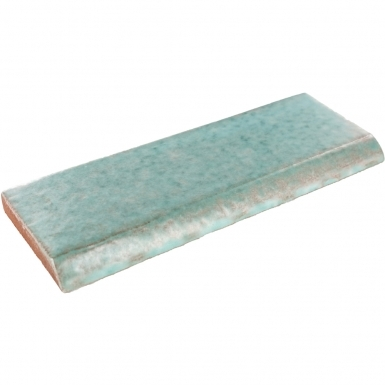 Surface Bullnose: Lucite Green - Siena Ceramic Tile