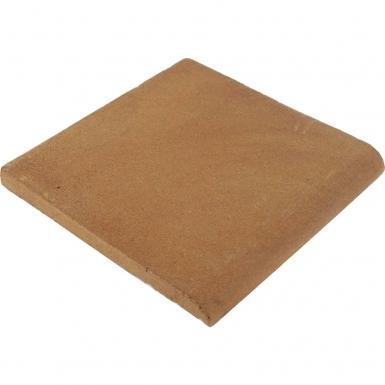 Surface Bullnose: Unglazed Natural - Siena Ceramic Tile