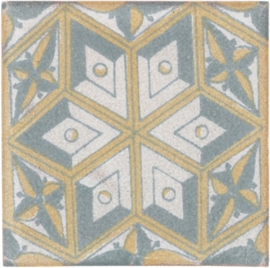 Cateriniana Handmade Siena Ceramic Tile