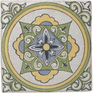 Carpineta Handmade Siena Ceramic Tile