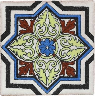 Montisi 2 Handmade Siena Ceramic Tile