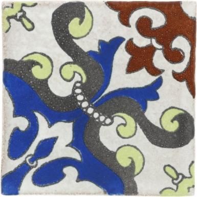 Montecapri 2 Handmade Siena Ceramic Tile