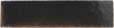 "2"" x 8"" Black Gloss - Tierra Brick High Fired Subway Tile"