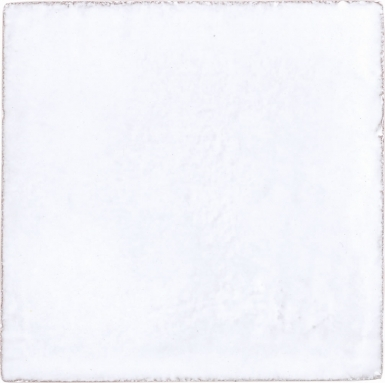 Pure White Gloss Handmade Siena Ceramic Tile