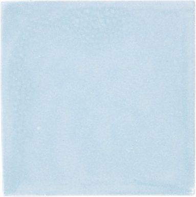 Powder Blue Handmade Siena Vetro Ceramic Tile