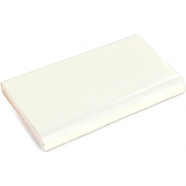 Surface Bullnose: Ivory - Dolcer Ceramic Tile