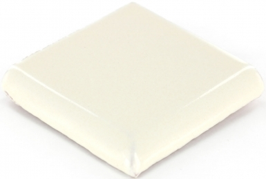 Double Surface Bullnose: Ivory - Dolcer Ceramic Tile