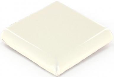 Double Surface Bullnose: Ivory - Dolcer Ceramic Tile