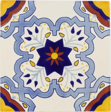 Augusta Sevilla Handmade Ceramic Floor Tile