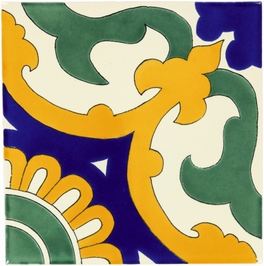 Capri Sevilla Handmade Ceramic Floor Tile