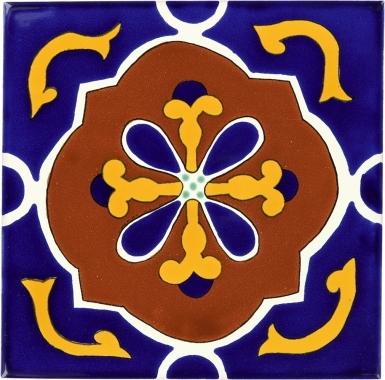 Libro Sevilla Handmade Ceramic Floor Tile