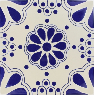Blue Lace Sevilla Handmade Ceramic Floor Tile