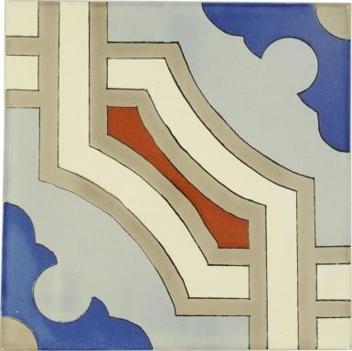 Lyon Sevilla Handmade Ceramic Floor Tile