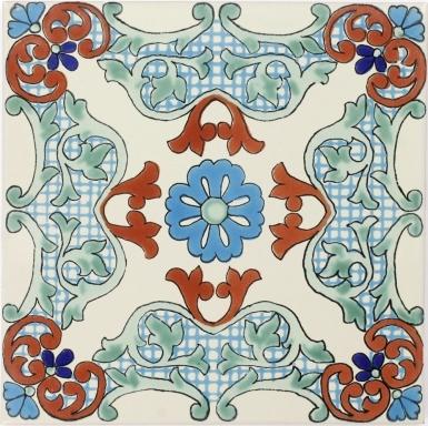 Aguadulce Sevilla Handmade Ceramic Floor Tile
