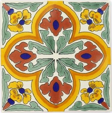 Villalba Sevilla Handmade Ceramic Floor Tile