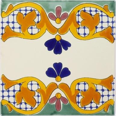 Gilena Sevilla Handmade Ceramic Floor Tile