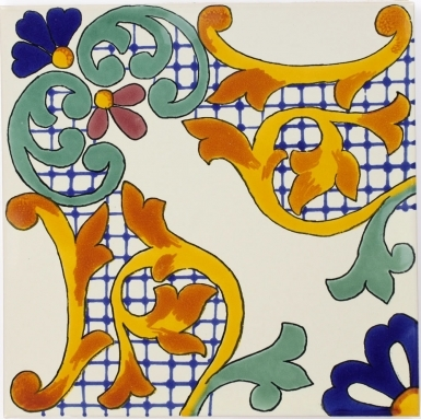 Alondra Sevilla Handmade Ceramic Floor Tile