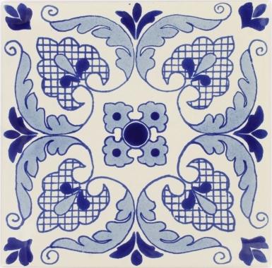 Malva Sevilla Handmade Ceramic Floor Tile