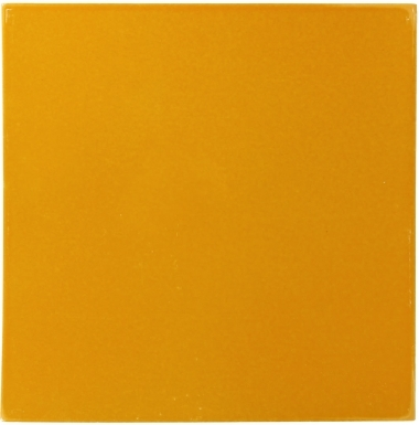 Yellow Ochre Sevilla Handcrafted Ceramic Floor Tile