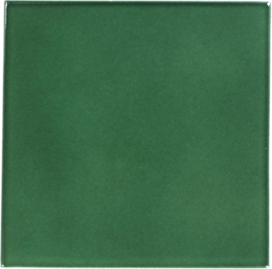 Hunter Green Sevilla Handcrafted Ceramic Floor Tile