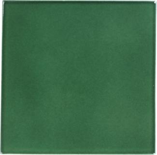 8 25 X 8 25 Hunter Green Sevilla Handcrafted Ceramic
