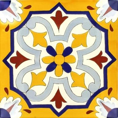 Villafranca 1 Sevilla Handmade Ceramic Floor Tile
