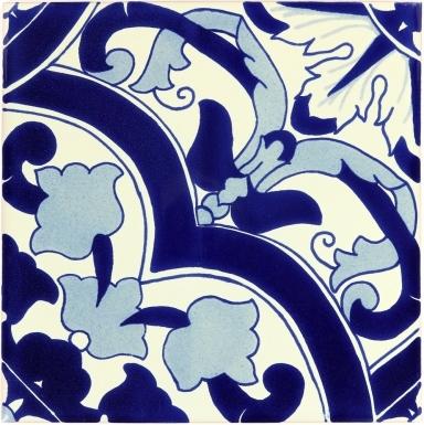 Quarter Barletta Sevilla Handmade Ceramic Floor Tile