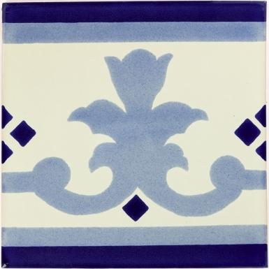 Pontevedra 4 Sevilla Handmade Ceramic Floor Tile