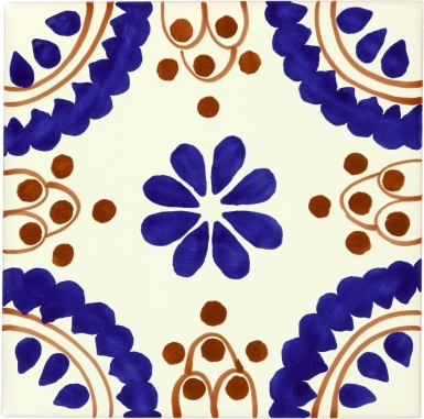 Madrid Sevilla Handmade Ceramic Floor Tile