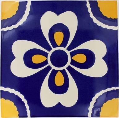 Carmen Sevilla Handmade Ceramic Floor Tile