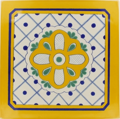 Vizzini Sevilla Handmade Ceramic Floor Tile