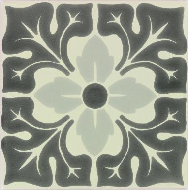 Lucerna 2 Sevilla Handmade Ceramic Floor Tile