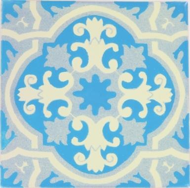 Santillana 3 Sevilla Handmade Ceramic Floor Tile