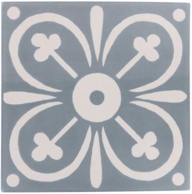 Santiago 1 Matte Sevilla Handmade Ceramic Floor Tile