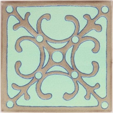 Catalunia 3 Sevilla Handmade Ceramic Floor Tile