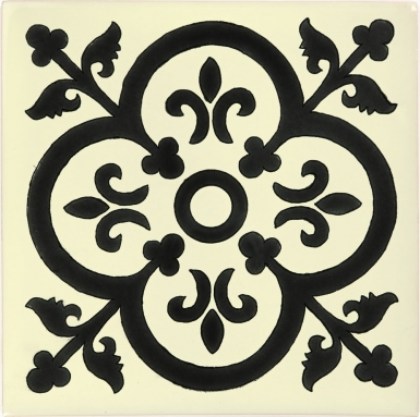Collblanc 1 Sevilla Handmade Ceramic Floor Tile