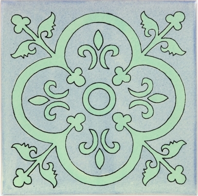Collblanc 2 Sevilla Handmade Ceramic Floor Tile