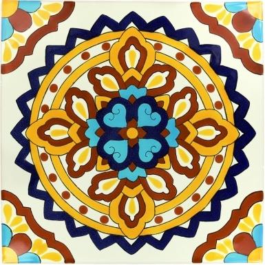 Palermo 4 Sevilla Handmade Ceramic Floor Tile