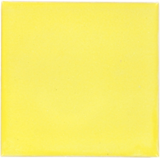 4.25 x 4.25 Canary Yellow - Dolcer Ceramic Tile