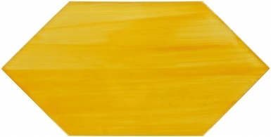 Brushed Yellow Ochre Arrow - Dolcer Ceramic Tile