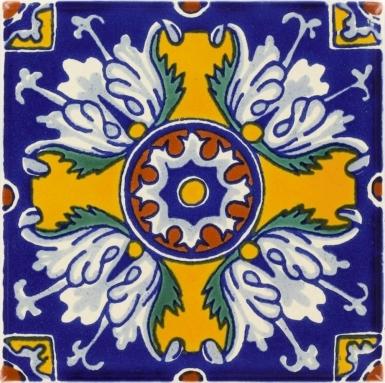 Romanesco Flower Dolcer Ceramic Tile