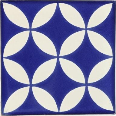 Prisme Blue & White Dolcer Ceramic Tile
